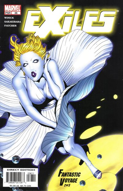 Cover for Exiles (Marvel, 2001 series) #36 [Direct Edition]