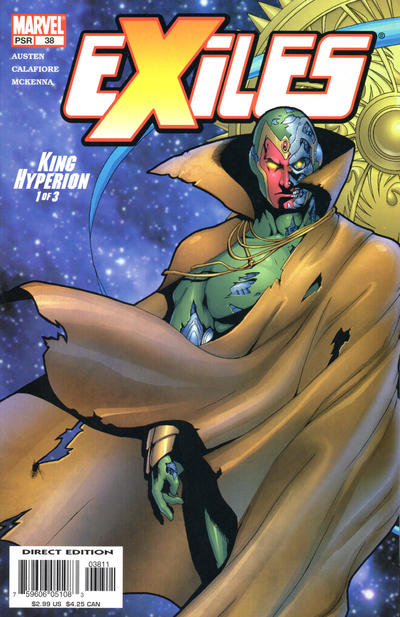 Cover for Exiles (Marvel, 2001 series) #38 [Direct Edition]