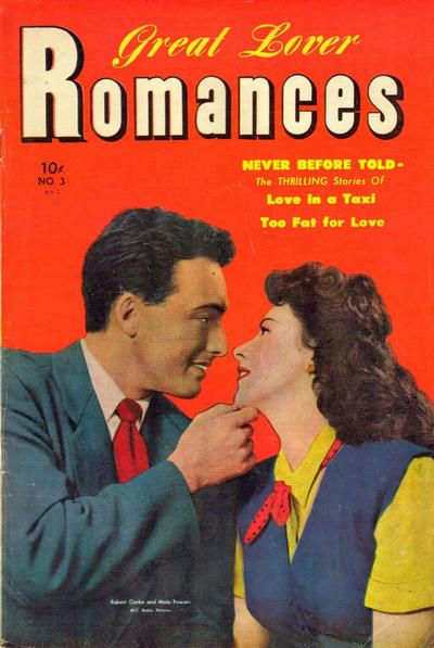 Cover for Great Lover Romances (Toby, 1951 series) #3