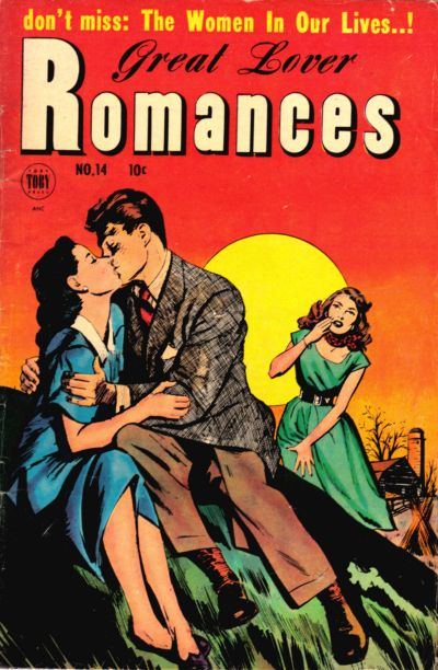 Cover for Great Lover Romances (Toby, 1951 series) #14