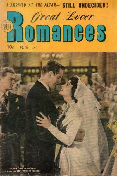 Cover for Great Lover Romances (Toby, 1951 series) #15