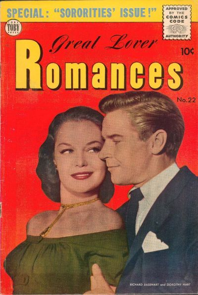 Cover for Great Lover Romances (Toby, 1951 series) #22
