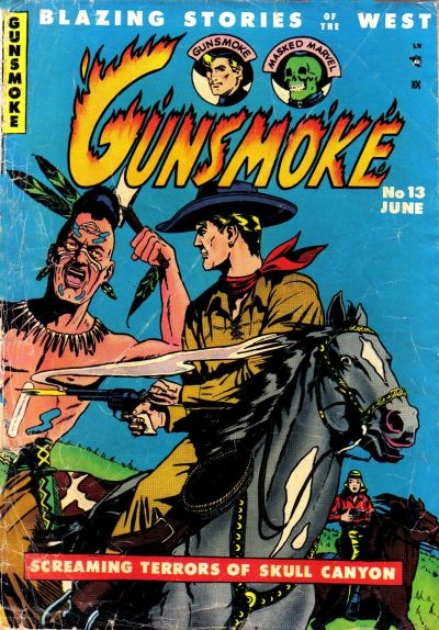 Cover for Gunsmoke (Youthful, 1949 series) #13