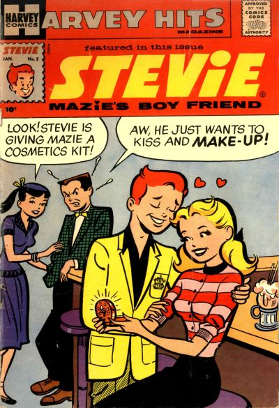 Cover for Harvey Hits (Harvey, 1957 series) #5