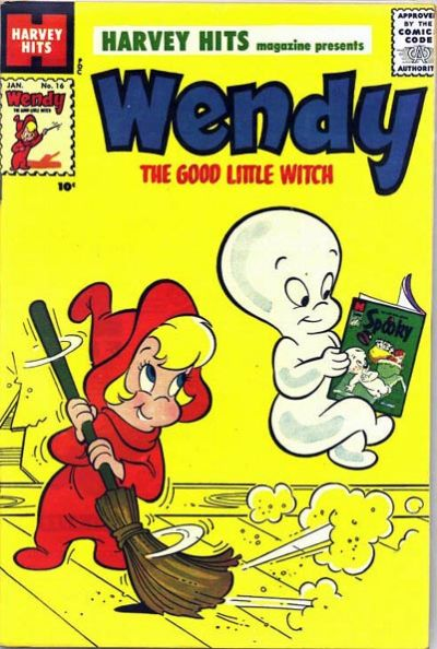 Cover for Harvey Hits (Harvey, 1957 series) #16