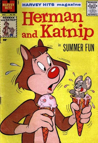 Cover for Harvey Hits (Harvey, 1957 series) #25