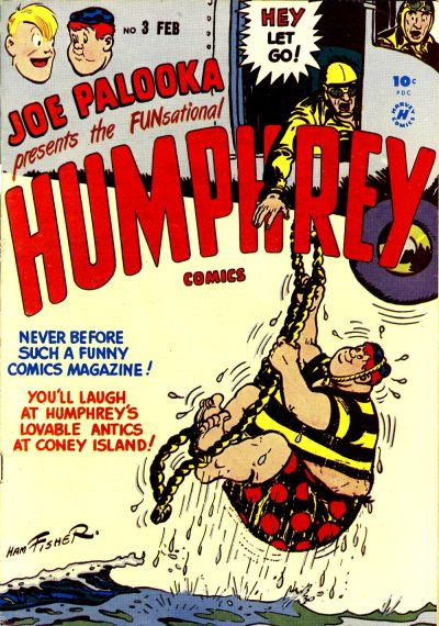 Cover for Humphrey Comics (Harvey, 1948 series) #3