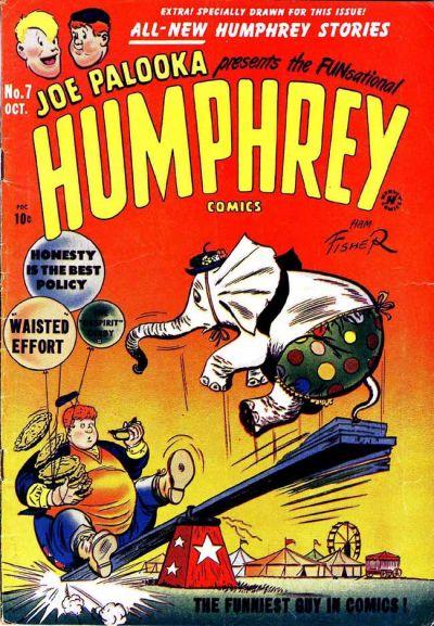 Cover for Humphrey Comics (Harvey, 1948 series) #7