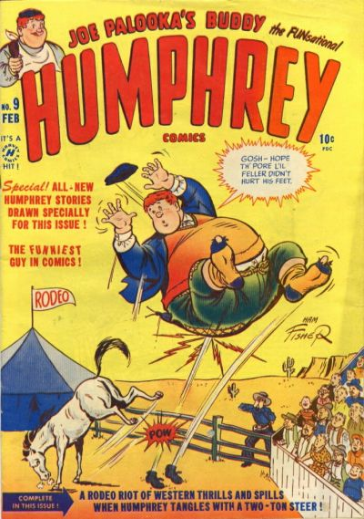 Cover for Humphrey Comics (Harvey, 1948 series) #9