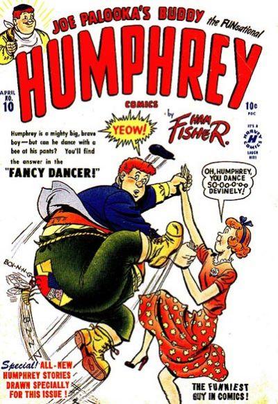 Cover for Humphrey Comics (Harvey, 1948 series) #10