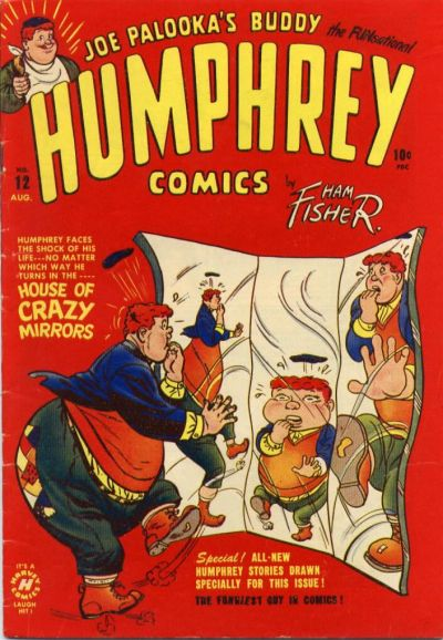 Cover for Humphrey Comics (Harvey, 1948 series) #12