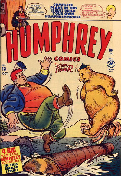 Cover for Humphrey Comics (Harvey, 1948 series) #13