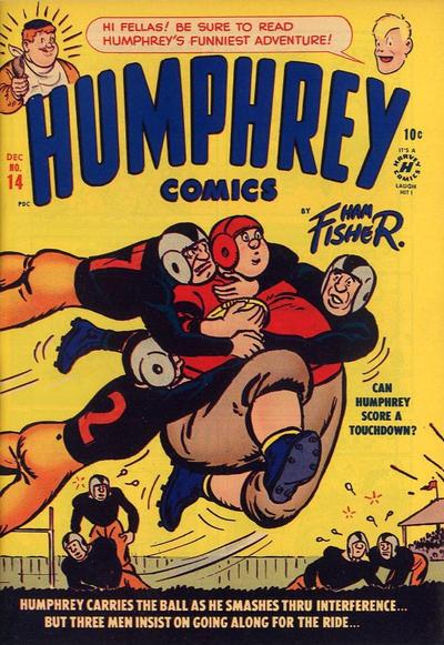 Cover for Humphrey Comics (Harvey, 1948 series) #14