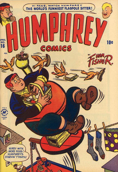 Cover for Humphrey Comics (Harvey, 1948 series) #16