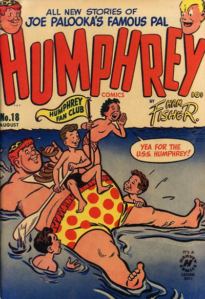 Cover for Humphrey Comics (Harvey, 1948 series) #18