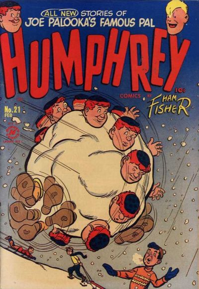 Cover for Humphrey Comics (Harvey, 1948 series) #21