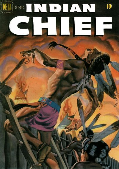 Cover for Indian Chief (Dell, 1951 series) #4