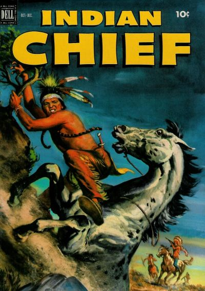 Cover for Indian Chief (Dell, 1951 series) #8