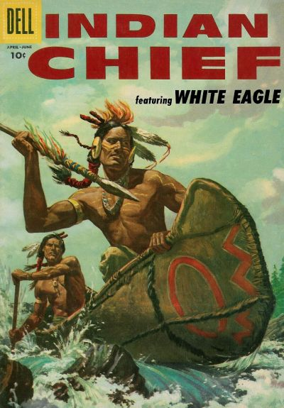 Cover for Indian Chief (Dell, 1951 series) #22