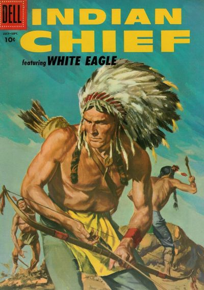 Cover for Indian Chief (Dell, 1951 series) #23