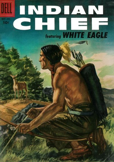 Cover for Indian Chief (Dell, 1951 series) #24