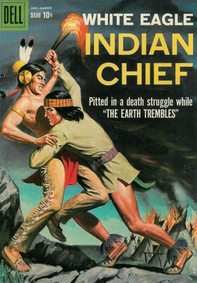 Cover for Indian Chief (Dell, 1951 series) #33