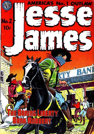 Cover for Jesse James (Avon, 1950 series) #2