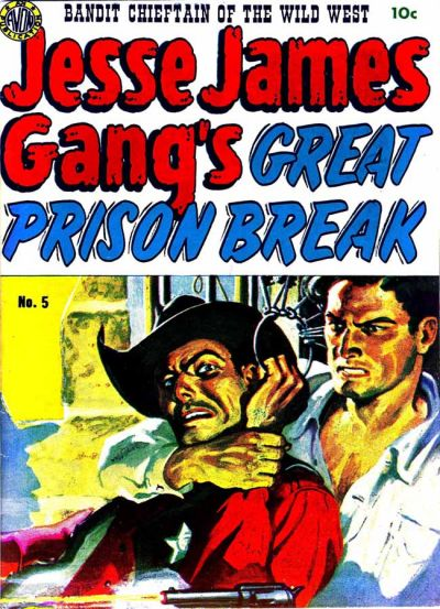 Cover for Jesse James (Avon, 1950 series) #5