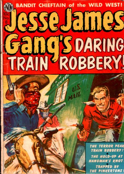 Cover for Jesse James (Avon, 1950 series) #8