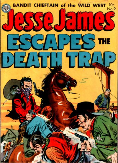 Cover for Jesse James (Avon, 1950 series) #9