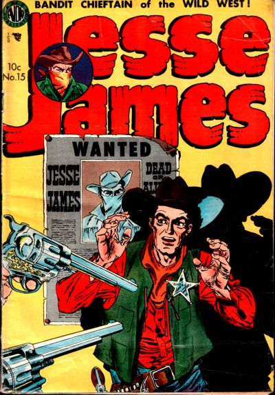 Cover for Jesse James (Avon, 1950 series) #15