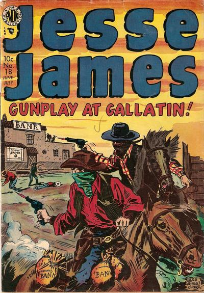 Cover for Jesse James (Avon, 1950 series) #18