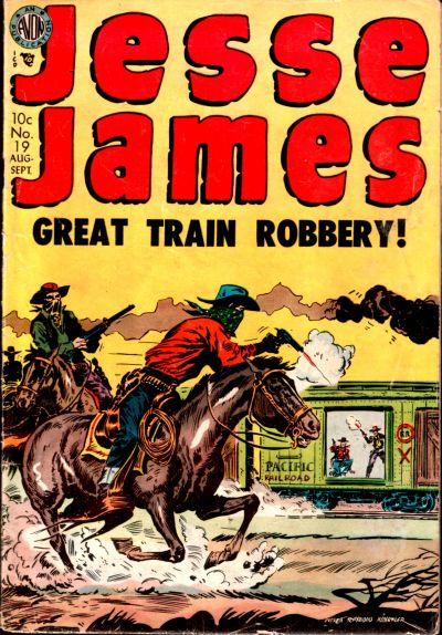 Cover for Jesse James (Avon, 1950 series) #19