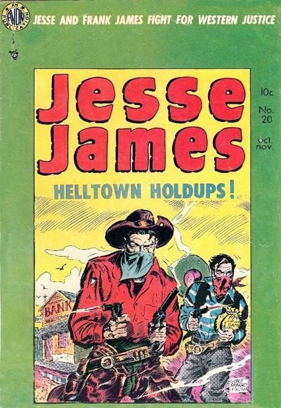 Cover for Jesse James (Avon, 1950 series) #20