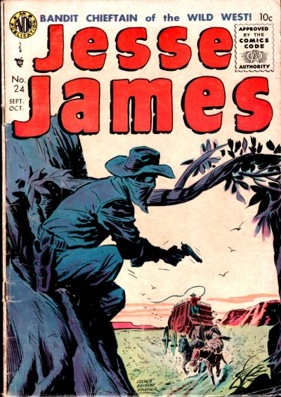 Cover for Jesse James (Avon, 1950 series) #24
