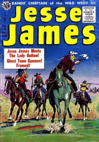 Cover for Jesse James (Avon, 1950 series) #25
