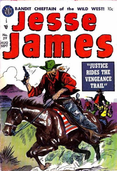 Cover for Jesse James (Avon, 1950 series) #29