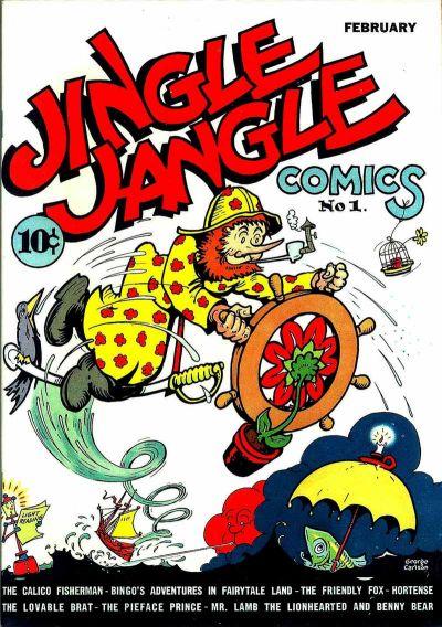 Cover for Jingle Jangle Comics (Eastern Color, 1942 series) #1