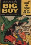 Cover for Adventures of the Big Boy (Webs Adventure Corporation, 1957 series) #30 [East]