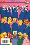 Cover for Simpsons Comics (Bongo, 1993 series) #25 [Newsstand Edition]