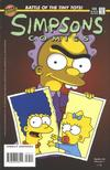 Cover for Simpsons Comics (Bongo, 1993 series) #35