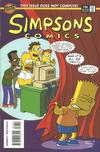 Cover for Simpsons Comics (Bongo, 1993 series) #36