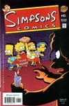 Cover for Simpsons Comics (Bongo, 1993 series) #43