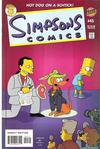 Cover for Simpsons Comics (Bongo, 1993 series) #45