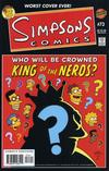 Cover for Simpsons Comics (Bongo, 1993 series) #73