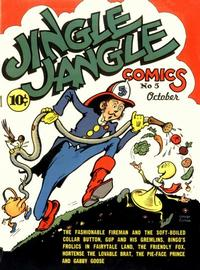 Cover Thumbnail for Jingle Jangle Comics (Eastern Color, 1942 series) #5