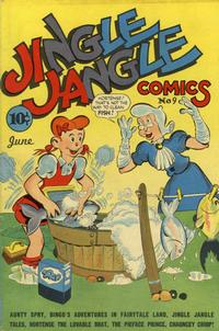 Cover Thumbnail for Jingle Jangle Comics (Eastern Color, 1942 series) #9