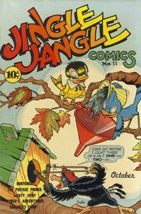 Cover Thumbnail for Jingle Jangle Comics (Eastern Color, 1942 series) #11
