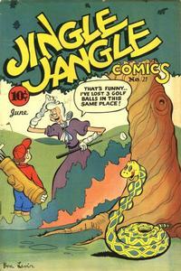 Cover Thumbnail for Jingle Jangle Comics (Eastern Color, 1942 series) #21