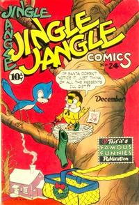 Cover Thumbnail for Jingle Jangle Comics (Eastern Color, 1942 series) #24